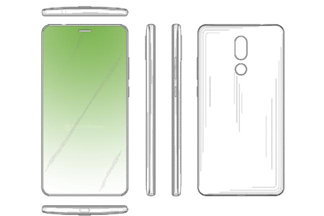 Huawei también está estudiando integrar componentes en un agujero en la pantalla, según una patente