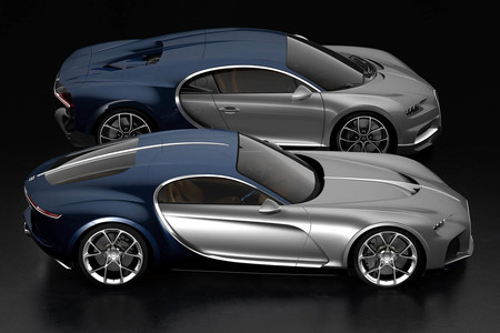 Bugatti Chiron Bugatti Atlantic