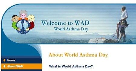 Hoy se celebra el Día Mundial del Asma