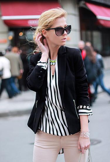 En tu fondo de armario: una blazer negra