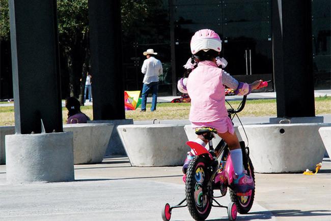 Bicicletas, caídas y golpes