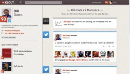 Klout y Microsoft llegan un acuerdo para potenciar el servicio en Bing