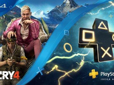 La suscripción anual a PlayStation Plus viene con una copia de Far Cry 4 gratis