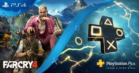 La suscripción anual a PlayStation Plus viene con una copia de Far Cry 4 gratis