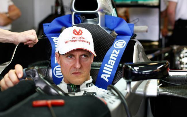Schumacher Cockpit Mercedes