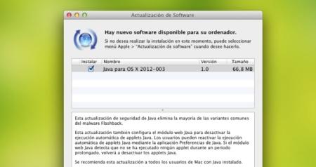 Apple lanza una actualización para eliminar el malware Flashback [Actualizado: herramienta para los que no tienen Java instalado]