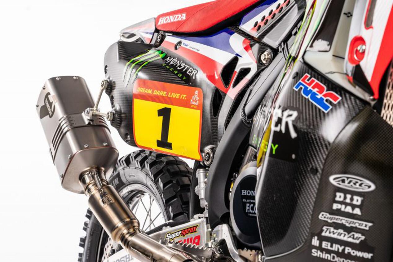 Foto de Honda CRF450 Rally Dakar 2021 (12/16)
