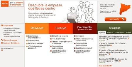 INICIA portal para empresas y emprendedores en Catalunya