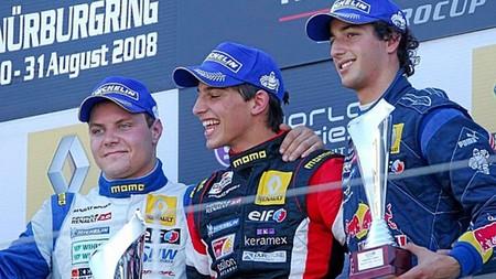 Merhi Bottas Ricciardo