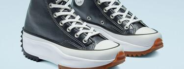 Las zapatillas Converse de piel y ante son la alternativa definitiva para que las queremos seguir luciendo deportivas a pesar del frío