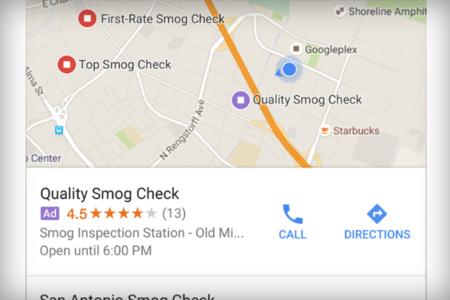 Google Maps incluirá más anuncios