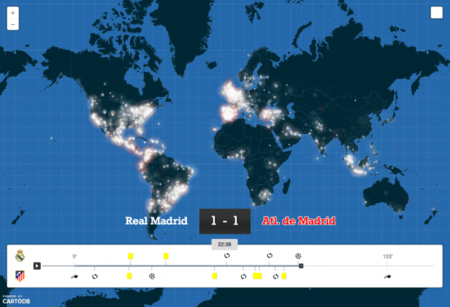 Importante respaldo a los mapas de la startup española CartoDB: una inyección de 8 millones de dólares
