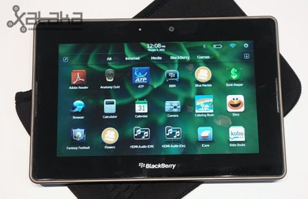 Blackberry Playbook – Prueba en CES 2011