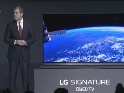 LG Signature TV, el nuevo televisor OLED de LG con tan sólo 2,57mm de grosor