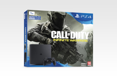 Ps4 Slim Call Of Duty Infinite Warfare 01