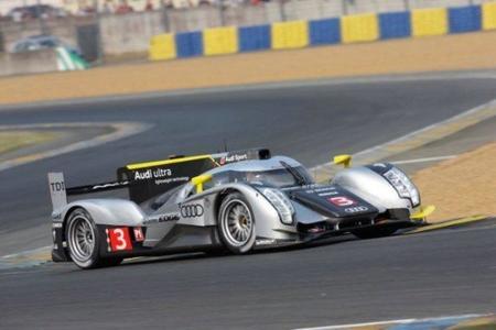 Audi domina en la jornada de test de Le Mans