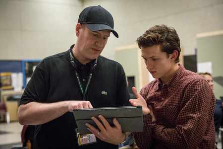 Kevin Feige Tom Holland