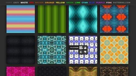 Encuentra texturas para tus fondos con ColourPatterns