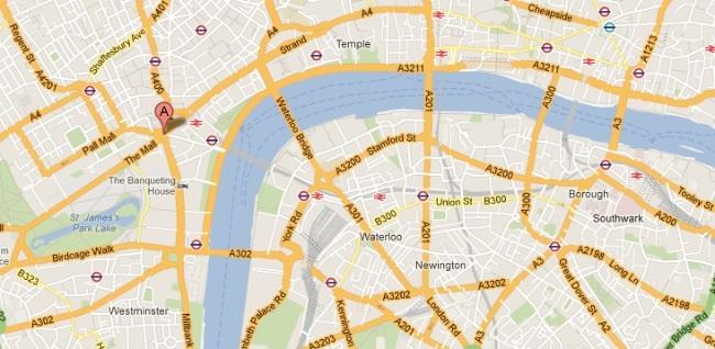 mapas google londres