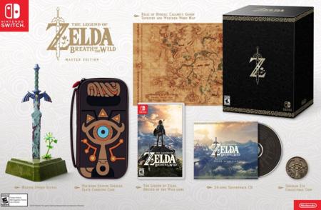 The Legend Of Zelda Breath Of The Wild Edicion Especial