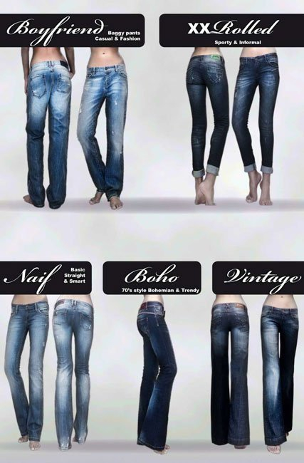 Los jeans que Stradivarius te propone para este Invierno