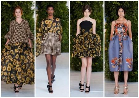 Delpozo tendencias de moda pv 2014