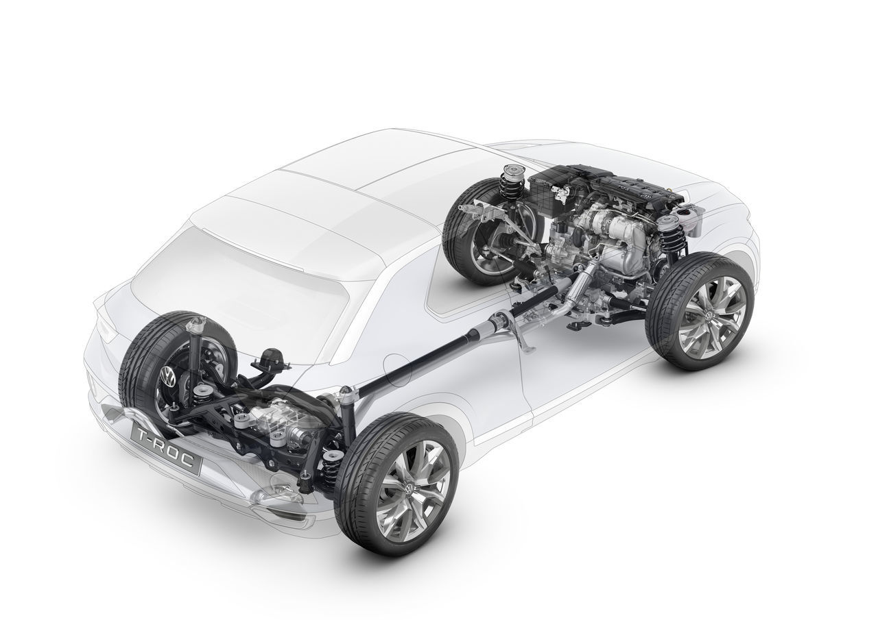 Foto de Volkswagen T-ROC Concept (21/22)