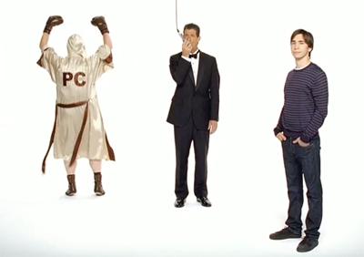 Tres nuevos anuncios de Ven a Mac