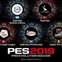 PES 2019 tendrá 7 licencias de nuevas ligas de cara a su próxima edición