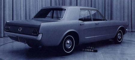 1963 Ford Mustang 4-Door Prototype