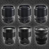 Tokina anuncia el desarrollo de seis nuevas ópticas para cámaras réflex y sin espejo APS-C y full frame