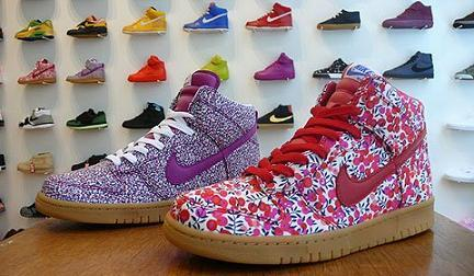 Zapartillas Nike Women Dunk Liberty Fabric Pack