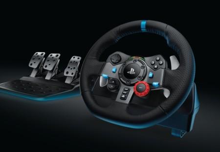 Los juegos de coches en consola no son lo mismo sin volantes: Los Logitech G29 y G920 llegan a la PS4 y a la Xbox One