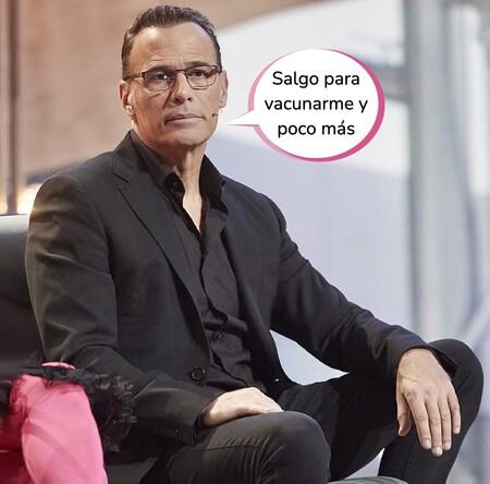 La nueva vida de Carlos Lozano: aislado, harto de Telecinco y con una churri desconocida