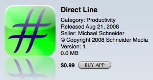 Direct Line, te pasa directamente con un operador humano