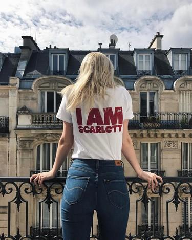 I am Scarlett, la camiseta que se ha vuelto viral en Instagram estas últimas semanas