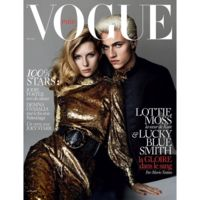 Vogue Paris: Lottie Moss & Lucky Blue Smith