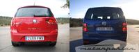 Comparativa: SEAT Altea XL 1.8 TFSI contra Volkswagen Touran 1.4 TSI (parte 4)