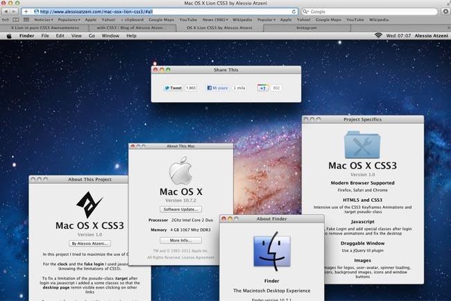 Lion con HTML5 Y CSS3