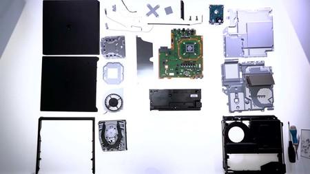Destapan un PS4 Pro y nos muestran todos sus componentes