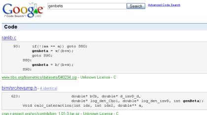 Google Code Search, el buscador de código