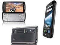 Tres teléfonos Android con personalidad
