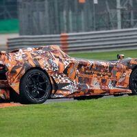 ¡In fraganti! Un nuevo Lamborghini speedster es captado en la pista
