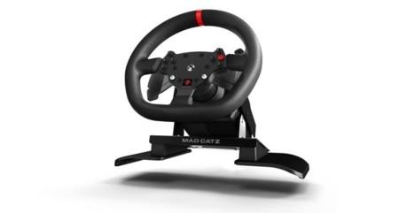 Mad Catz ya tiene su volante para la Xbox One