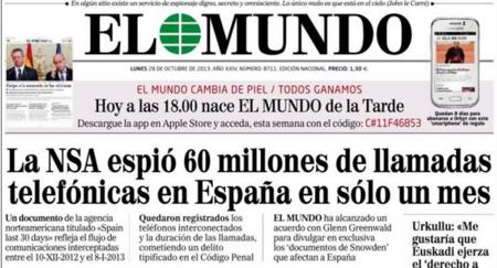 La cifras del espionaje de la NSA en España: 60 millones de llamadas interceptadas en un mes