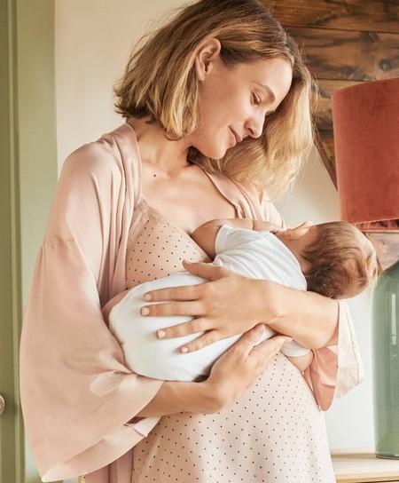 Oysho nos enamora con su colección Mum, con prendas ideales para el embarazo y la lactancia