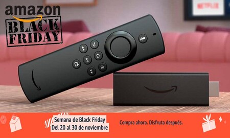 Por el Black Friday, convertir tu tele en smart TV sólo te costará 19,99 euros con el Fire TV Stick Lite de Amazon