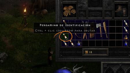 Pergamino Identificacion Diablo 2