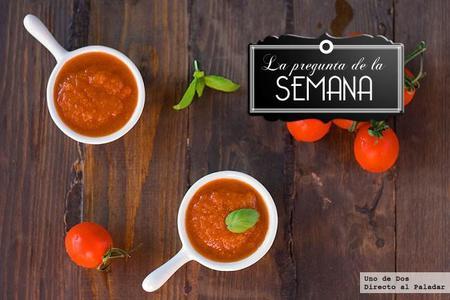 ¿Compráis salsas en conserva o las preparáis vosotros? La pregunta de la semana