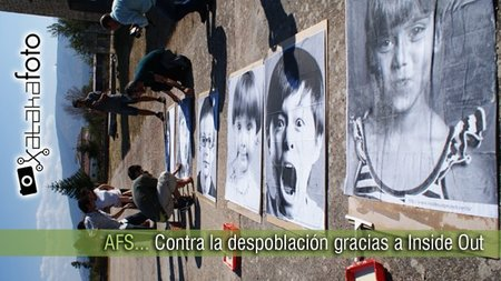 Asociación Fotográfica Segoviana, empapelando con fotos contra la despoblación